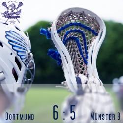Mohawks Spieltagsergebnis quadratisch Herren Münster B